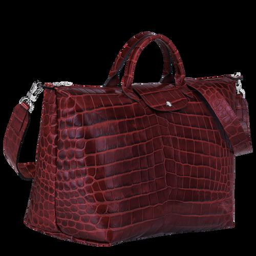 旅行袋 L, 酒紅色 - 查看 2 3 -