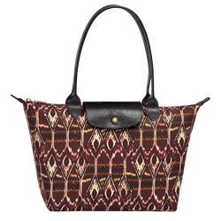 Ikat Tote bag S, 009 Burgundy, hi-res