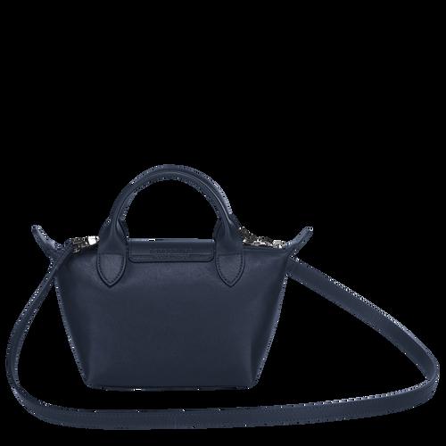 Top handle bag XS, Navy - View 3 of  7 -