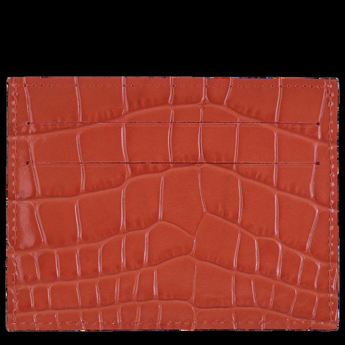 Le Pliage Cuir Karten-Etui, Orange
