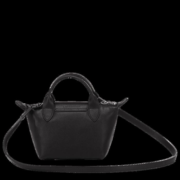 Top handle bag XS, Black/Ebony - View 3 of  6 - zoom in