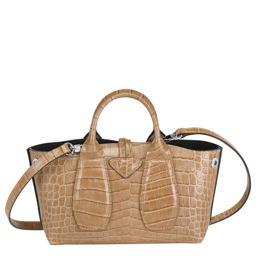 Top handle bag XS, Sand - View 3 of 4 -