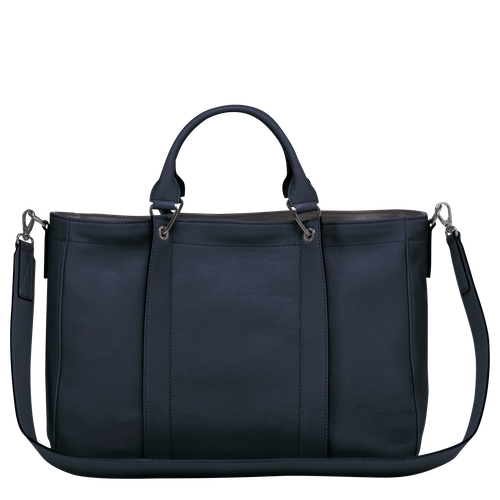 Top handle bag M, Midnight blue - View 3 of  3 -