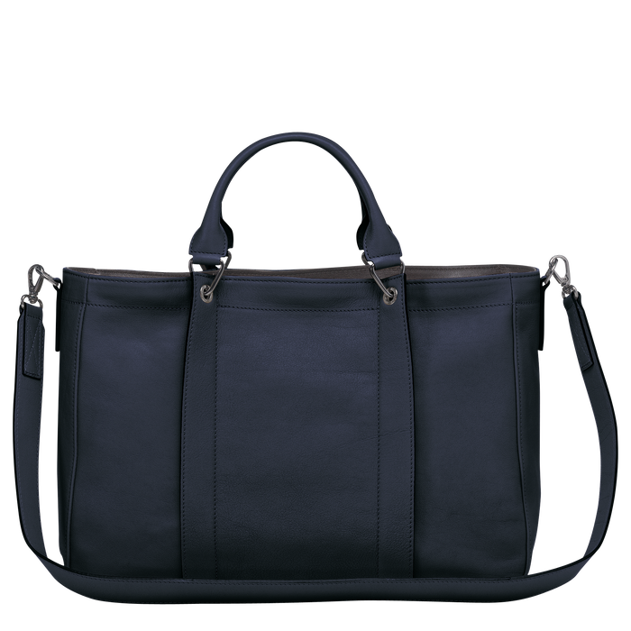 Top handle bag M, Midnight blue - View 3 of  3 - zoom in