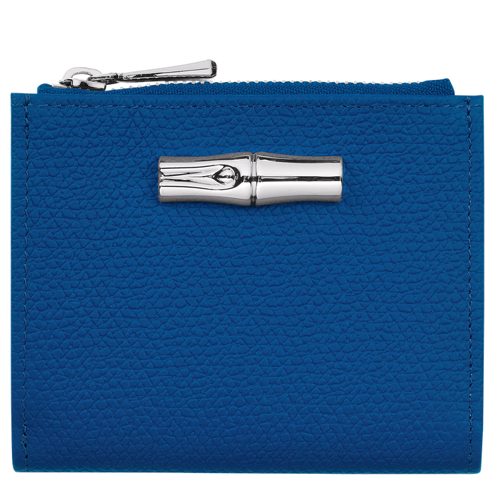 Cartera compacta, Azul - Vista 1 de 2 - ampliar el zoom