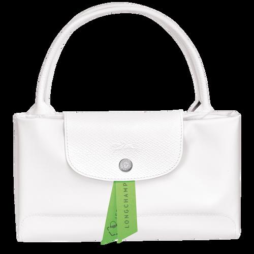 Le Pliage Green 手提包 M, 雪白色