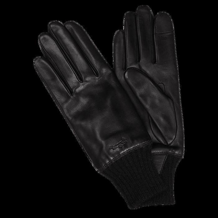 Herrenhandschuhe, Schwarz/Ebenholz - Ansicht 2 von 2 - Zoom vergrößern