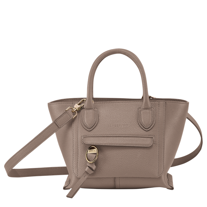 Top handle bag S, Taupe - View 1 of  4.0 - zoom in