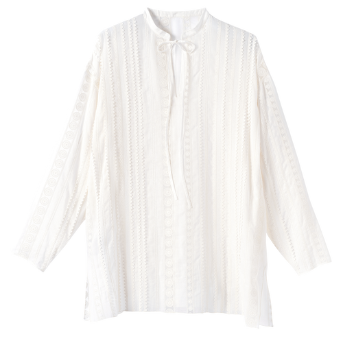 Spring-Summer 2021 Collection Blouse, White