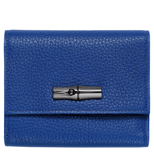 View 1 of Compact wallet, P24 Cobalt, hi-res