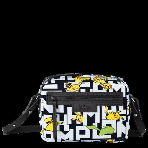 Crossbody bag, Black/White - View 1 of  3 -