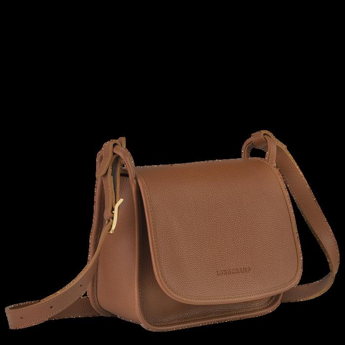 Le Foulonné Crossbody bag M, Caramel