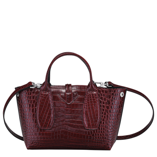 Top handle bag S, Burgundy - View 4 of 4 -