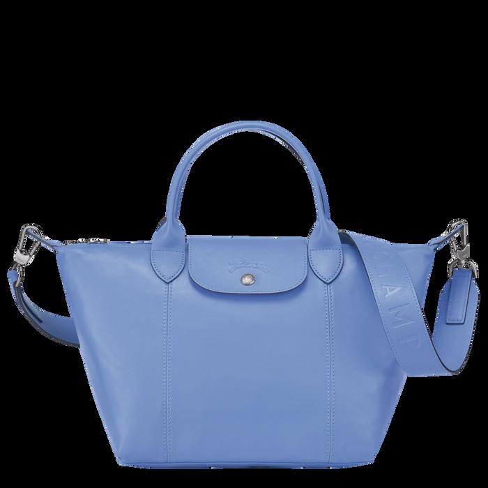 Top handle bag, Blue, hi-res - View 1 of 3