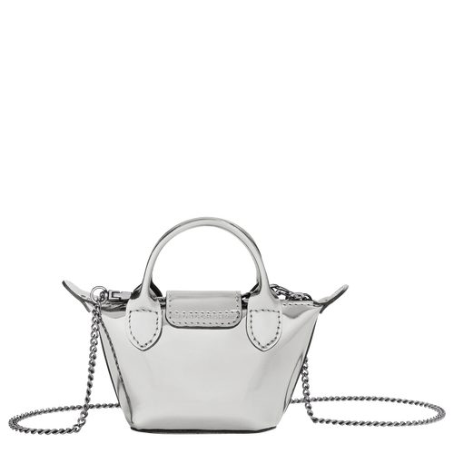 Crossbody bag XS, Silver - View 3 of  3 -