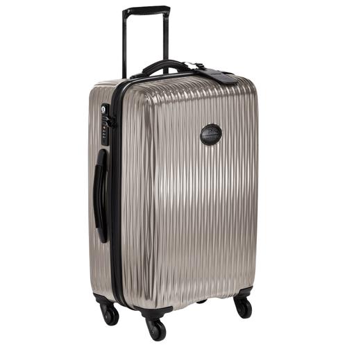 Wheeled suitcase, 112 Grey, hi-res