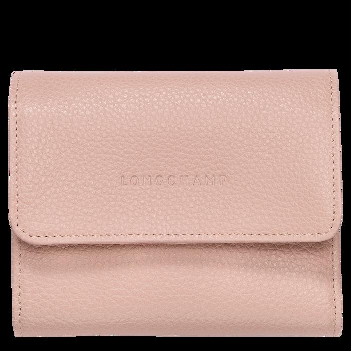 Compact wallet Le Foulonné Powder (30000021507) | Longchamp US