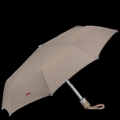 Parapluie homme Retractable umbrella, Brown