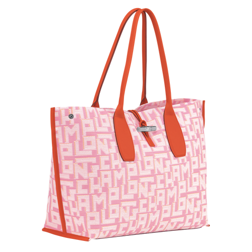Sac shopping XL, Rose, hi-res - Vue 2 de 3
