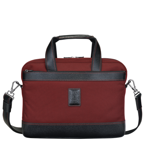 Briefcase S, Red lacquer - View 1 of  3 -