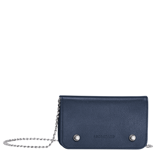 Wallet on chain, 556 Navy, hi-res