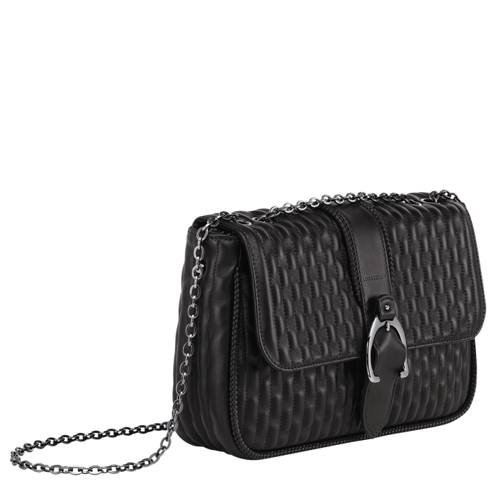 Crossbody bag M, Black/Ebony - View 2 of 3 - zoom in