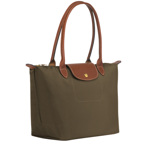 View 2 of Tote bag S, A23 Khaki, hi-res