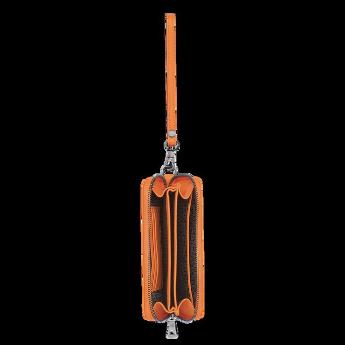 Brieftasche im Kompaktformat, Orange, hi-res - View 2 of 2