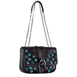 Shoulder Bag, 001 Black, hi-res