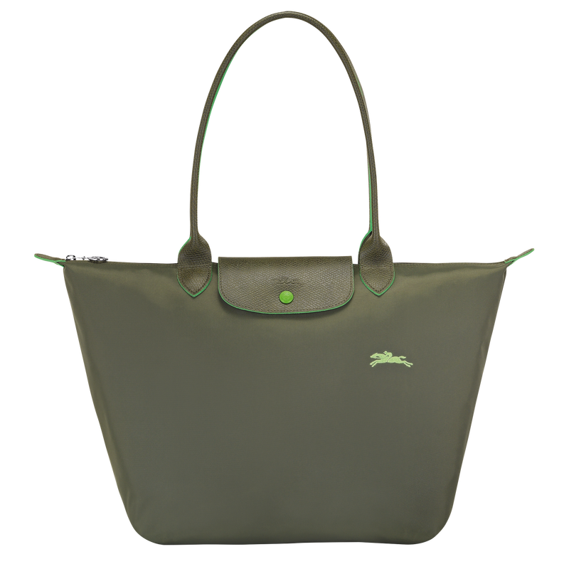 Shoulder bag L, Longchamp Green - View 1 of  5 - zoom in