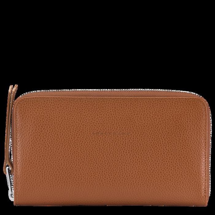 Long zip around wallet, Caramel - View 1 of  2 - zoom in
