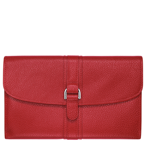 Continental wallet, Vermilion, hi-res - View 1 of 3