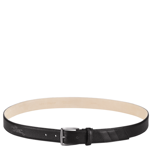 Men's belt, Black/Ebony - View 1 of 1 -