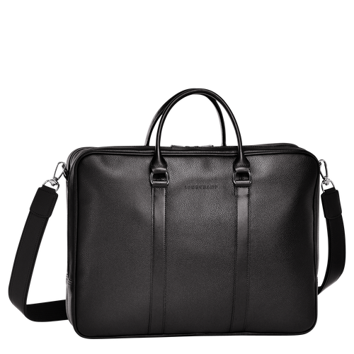 Briefcase L, Black - View 1 of  3 -