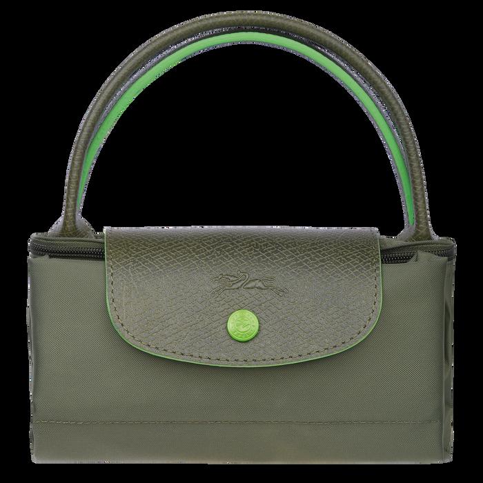 Top handle bag S, Longchamp Green - View 4 of 5 - zoom in