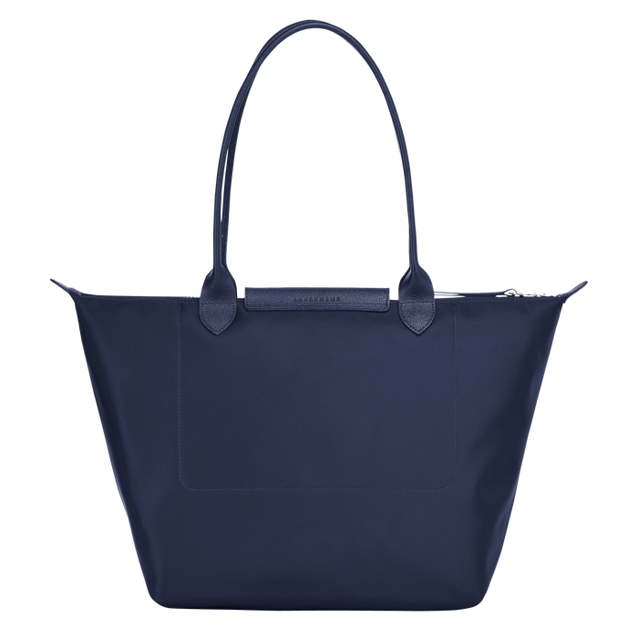 Shoulder bag L, Navy, hi-res - View 3 of 3