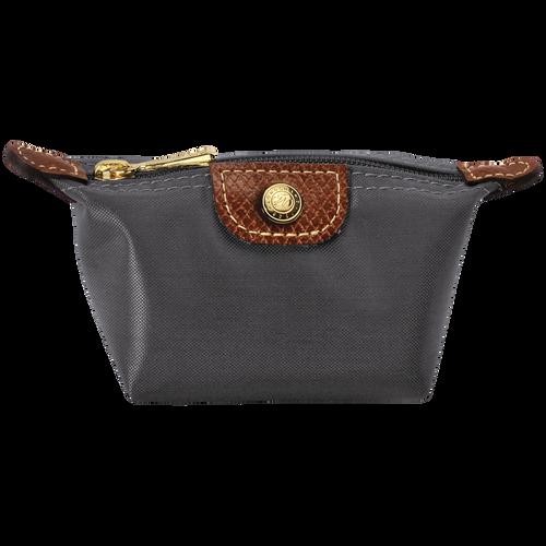 Coin purse, Gun metal, hi-res - View 1 of 1