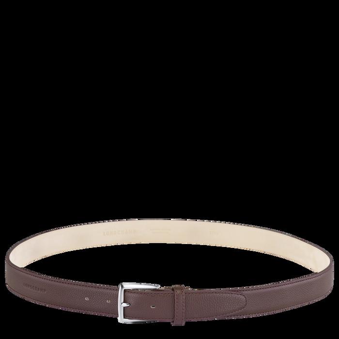 Men's belt, Mahogany - View 1 of  1 - zoom in
