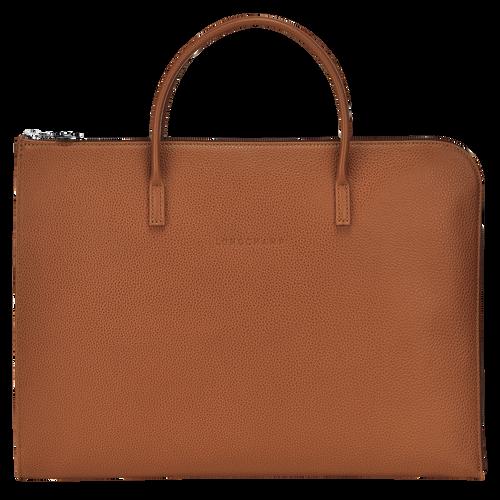 Briefcase S, Caramel, hi-res - View 1 of 3