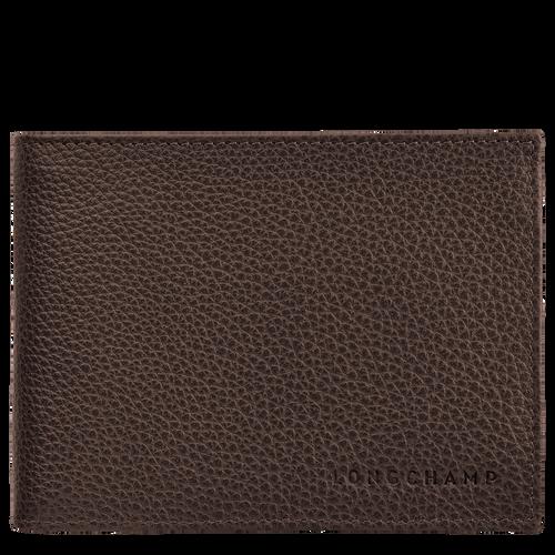 Wallet Le Foulonné Mocha (L4249021002) | Longchamp EN