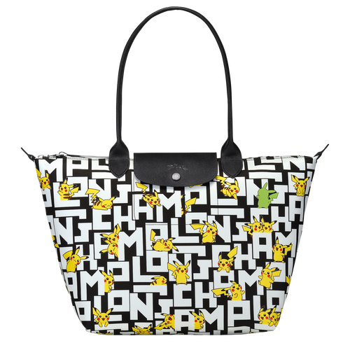 Shoulder bag L, Black/White - View 1 of  3 -