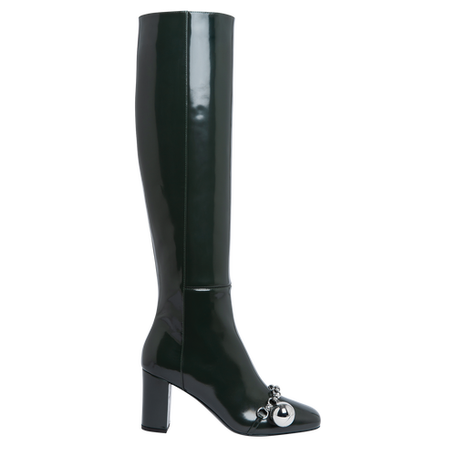 Boots, Longchamp Green - View 1 of  3 -