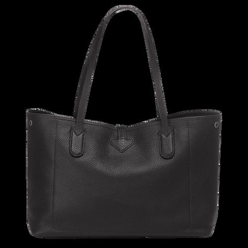 Essential Tote bag M, Black, hi-res - View 3 of 3