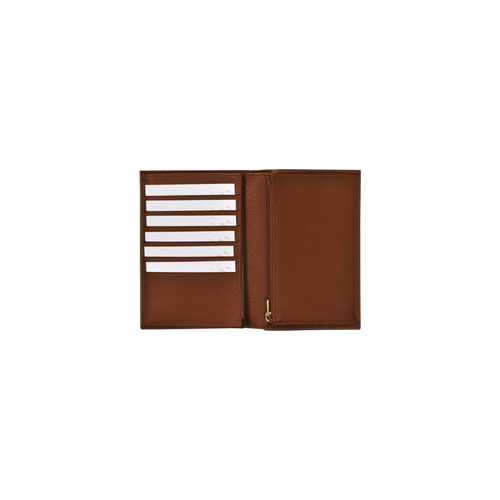 View 3 of Small wallet, 504 Cognac, hi-res