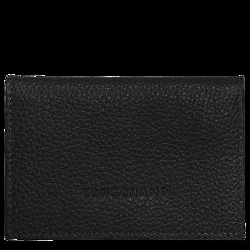 Le Foulonné 卡片夾, 黑色