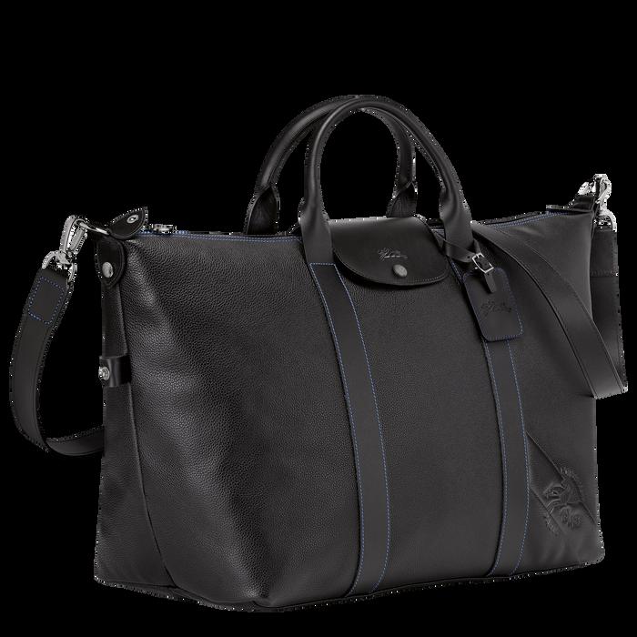 Reisetasche L, Schwarz/Ebenholz - Ansicht 2 von 3 - Zoom vergrößern