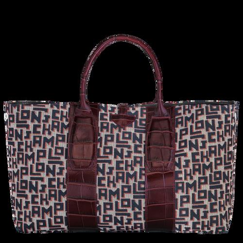 Top handle bag L, Mahogany - View 4 of 4 -