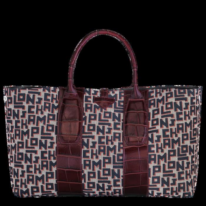 Top handle bag L, Mahogany - View 4 of 4 - zoom in