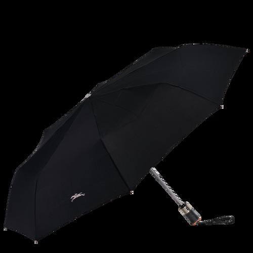 Parapluie mat rétractable, Noir/Ebène - Vue 1 de 1 -