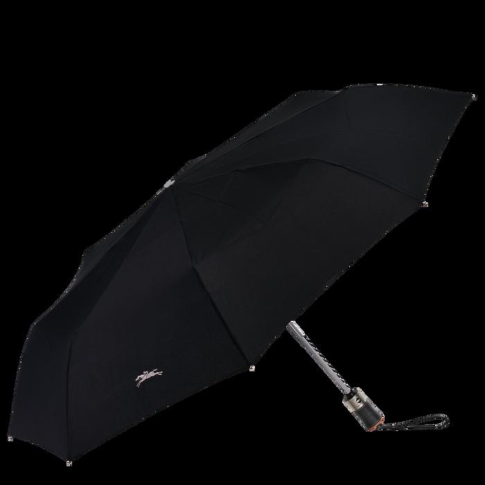 Parapluie mat rétractable, Noir/Ebène - Vue 1 de 1 - agrandir le zoom